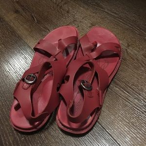 Keen red sandals for women size 9.5